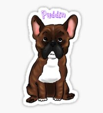 Puddin for Mary Sticker