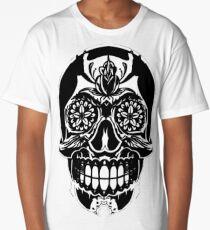 SKULL, SKELETON, MEXICAN SKULL, MEXICAN SKELETON, SKULL T-SHIRT,  SKELETON T-SHIRT,  MEXICAN SKULL T-SHIRT,  MEXICAN SKELETON T-SHIRT Long T-Shirt