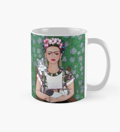 Frida cat lover Mug