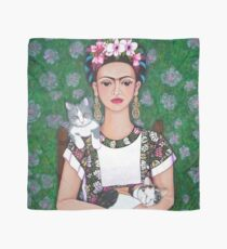 Frida cat lover Scarf
