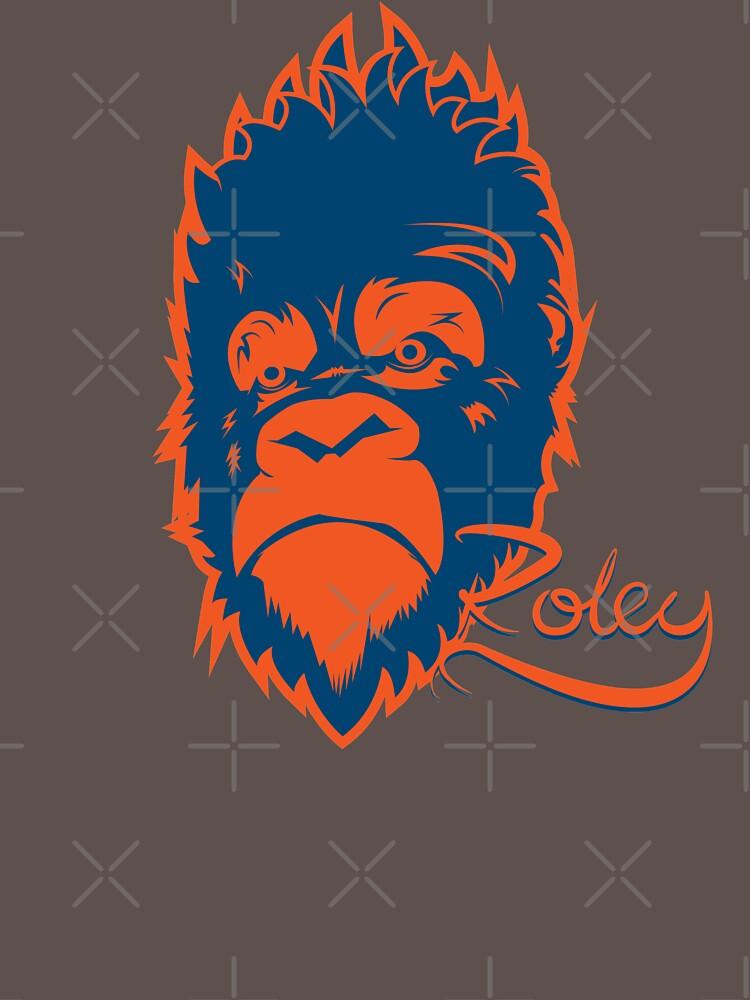 Grumpy Gorilla by RoleyShop