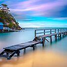 Shelly Beach Jetty by Trevor Middleton