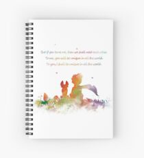 Little Prince Fox Spiral Notebook