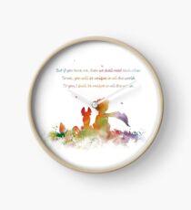 Little Prince Fox Clock