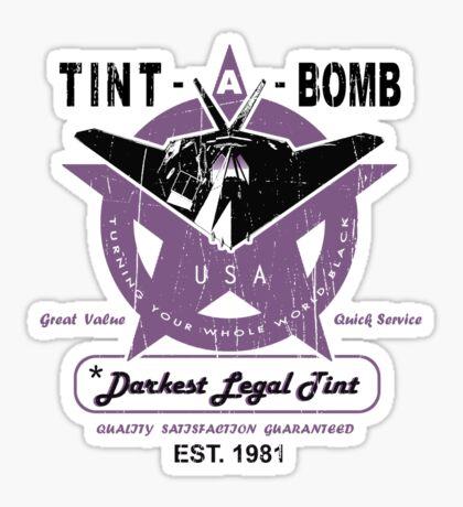 Darkest Legal Tint Sticker