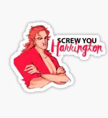 Billy Stranger Things 2 Sticker