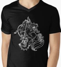 St. George - SLAY YOUR DRAGONS, dark Men's V-Neck T-Shirt