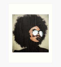 Venus Afro Art Print