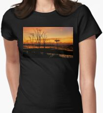 The Red Sky Women's Fitted T-Shirt