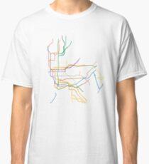 Camiseta clásica Metro de Nueva York
