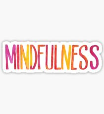 Mindfulness Sticker
