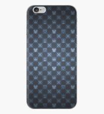 Vinilo o funda para iPhone Patrón KH - azul