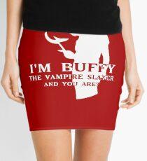 I'm Buffy, the Vampire Slayer Mini Skirt