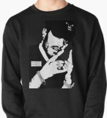Russ Black White Pullover