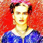 Looking for Frida Kahlo... by Madalena Lobao-Tello