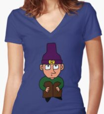 Robin Radiohead Women's Fitted V-Neck T-Shirt