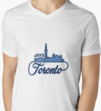 Toronto - Jays Men's V-Neck T-Shirt