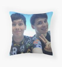 Dan and Phil - Playlist Live Throw Pillow