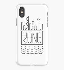 Hong Kong - City Skyline iPhone Case/Skin