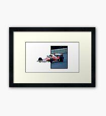 Retro Dragster Framed Print