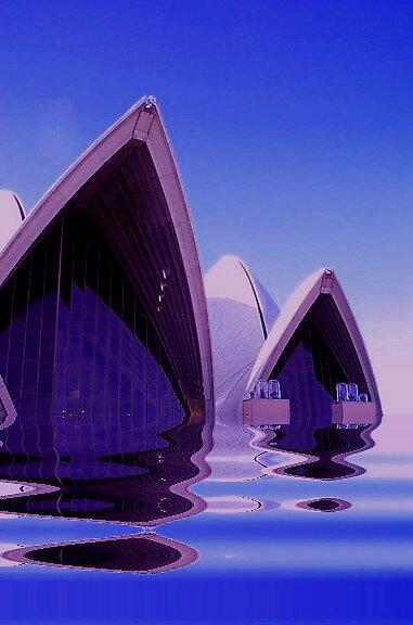 SOLVED- Sydney Opera House by Julia Mainwaring-Berry