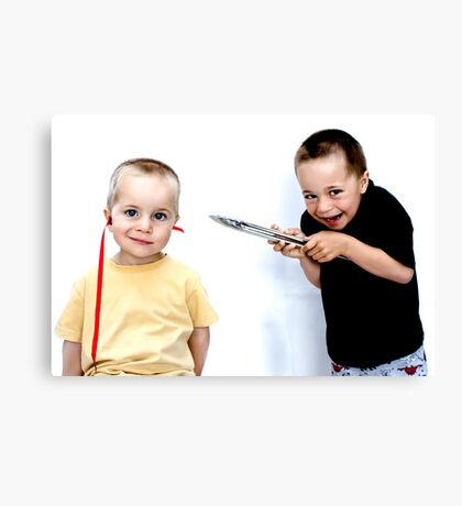 """This Won't Hurt A Bit..."" Canvas Print"
