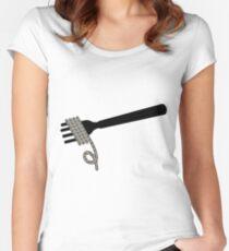 Camiseta entallada de cuello ancho Factorio Belt Spaghetti
