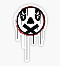 Akira Clown Graffiti Icon Sticker
