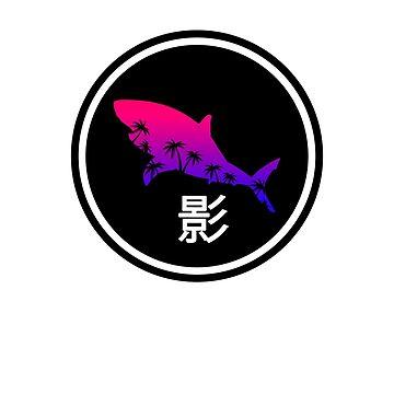 Vapor Shark (Shadow List シャドーリスト) by Crazy-Shark