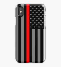 American Firefighter US Flag iPhone Case/Skin