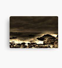 Forster beach Canvas Print