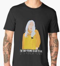 Billie Eilish - Bellyache 2 Men's Premium T-Shirt
