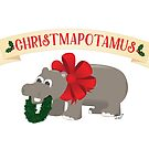 Christmapotamus by FairyNerdy