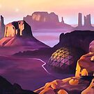 Ghosts of Monument Valley by Ciara Barsotti