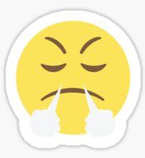 Frustrated Face Emoji  Sticker