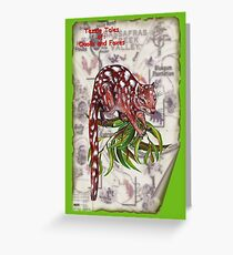 ICON ~ TAZZIE TALES OF - Quolls and Foxes by tasmanianartist Greeting Card