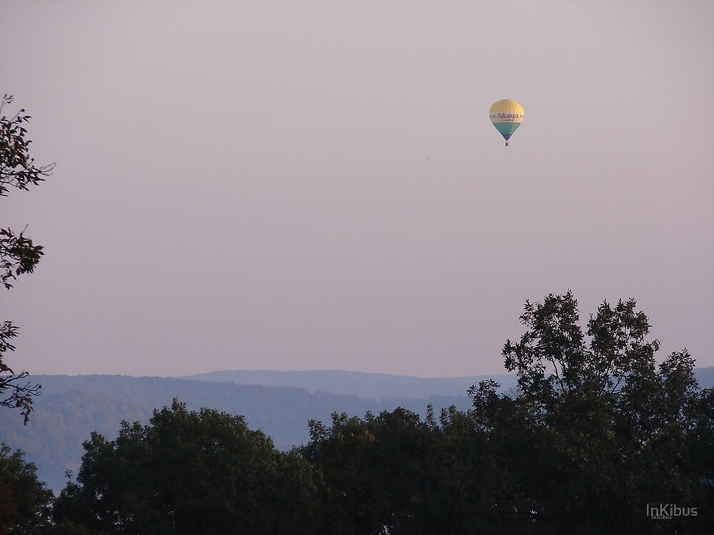 Ozarks Hill and State Balloon by InKibus
