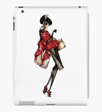 1940s Vintage Red Kimono Coat and Coffee iPad Case/Skin