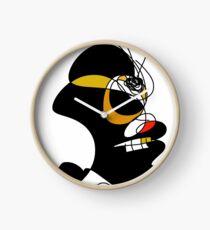 Profile of Black Zombie - RegiaArt Clock