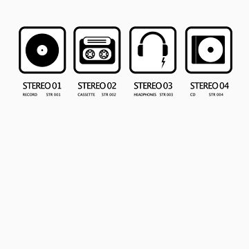 Stereo icons by stereoplastika