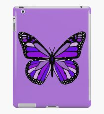 Purple Monarch Butterfly iPad Case/Skin