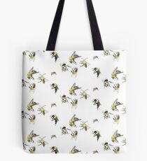 A Bunch of Bees Tote Bag