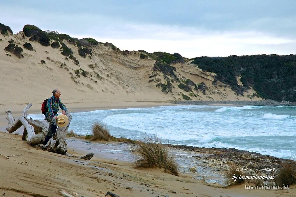 TASMAN PENINSULA ~ Respite at Crescent Beach by tasmanianartist by tasmanianartist