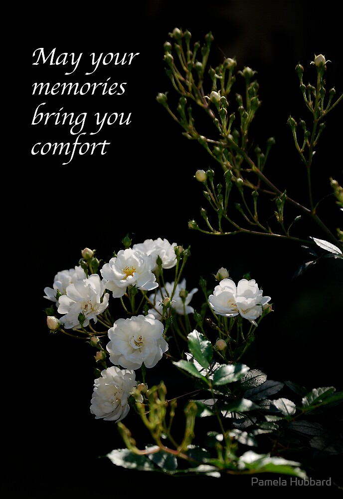 White Roses by Pamela Hubbard