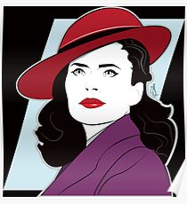 Red Hat Female Poster