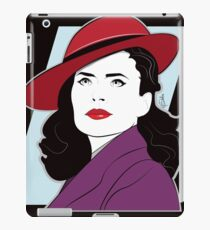 Red Hat Female iPad Case/Skin