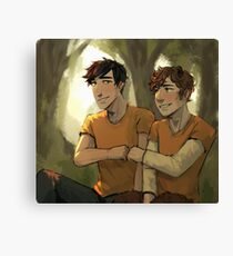 Percy and Grover Canvas Print