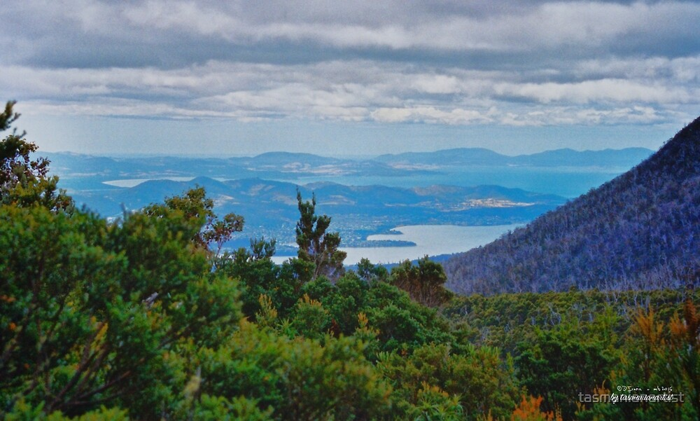 SCENES & SCENERY ~ Views on the Way to Tom Thumb by tasmanianartist by tasmanianartist
