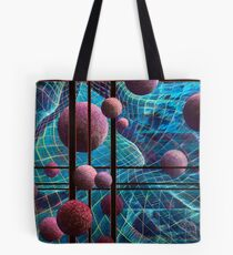 Curved Space Tote Bag