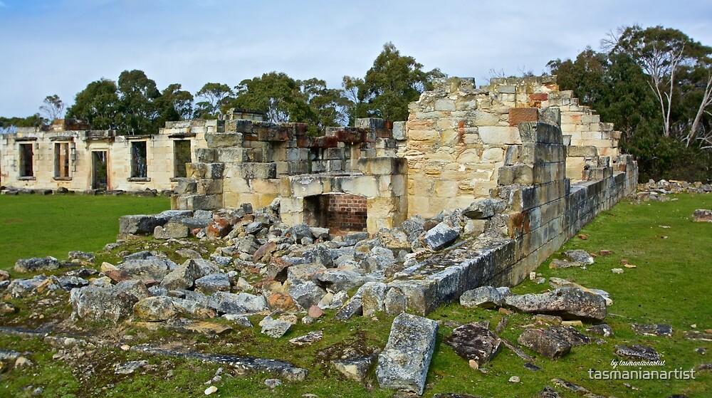 TASMAN PENINSULA ~ HAUNTING ECHOES ~ The Coal Mines 17 by tasmanianartist by tasmanianartist